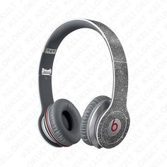 Beats Solo & Solo HD Full Headphone Wrap Sparkling by kellokult Best In Ear Headphones, Sports Headphones, Wireless Headphones, Beats Headphones, Cheap Beats, Beats Solo Hd, Headphone Wrap, Beats Pill
