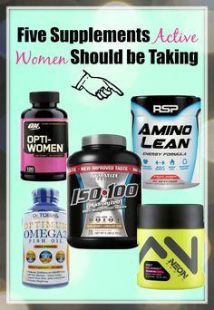 03ec894c029ac 5 Supplements Active Women Should Take Crowley