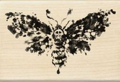 Amazon.com: Inkadinkado Wood Stamp, Death Head Moth: Arts, Crafts & Sewing