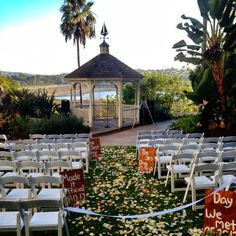 Rustic Wedding Signs Newport Beach Marriott