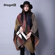 Shegetit 2016 Winter New Women knit Shawl Cape Luxury Cashmere Scarf Vintage Women Scarf Female Best Quality Pashmina Keep Warm     Tag a friend who would love this!     FREE Shipping Worldwide     #Style #Fashion #Clothing    Buy one here---> http://www.alifashionmarket.com/products/shegetit-2016-winter-new-women-knit-shawl-cape-luxury-cashmere-scarf-vintage-women-scarf-female-best-quality-pashmina-keep-warm/