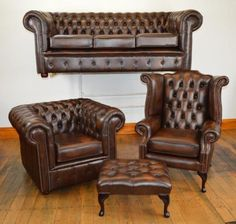 chesterfield sofa cromwell fleming howland deco maison pinterest d co maison pour la. Black Bedroom Furniture Sets. Home Design Ideas