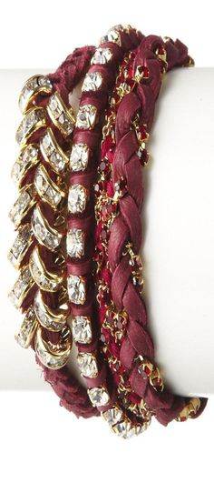 http://www.beadshop.com.br/?utm_source=pinterest&utm_medium=pint&partner=pin13 pulseira marsala  Ettika Plum Pantone 2015 Marsala Color