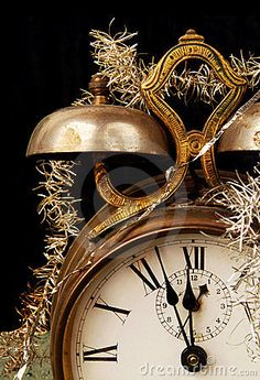 Vintage Alarm Clock On New Years Eve Stock Image - Image of concept, christmas: 7069775 New Years Eve Day, New Years 2016, New Years Party, Happy New Year 2016, Happy New Year Everyone, Vintage Alarm Clocks, Auld Lang Syne, New Year Celebration, Nouvel An