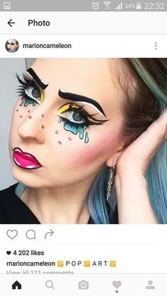 Makeup ideas pop art