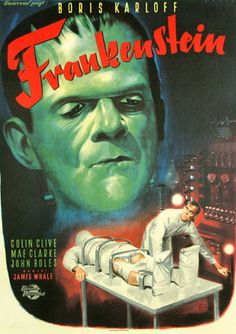 Frankenstein Movie Posters Original and Vintage