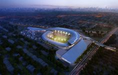 Rendering of proposed Cosmos Stadium. Proposed by NY Cosmos team and Carl Mattone. #nycosmos #soccer #stadium #carlmattone
