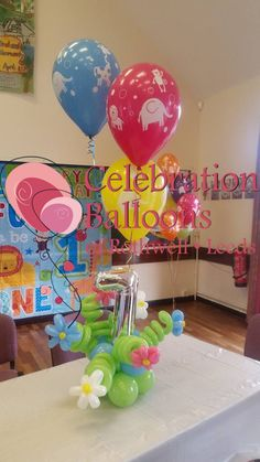 Birthday balloons from www.rothwellballoons.co.uk