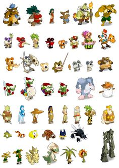 Sprites part .1 Game Character Design, Character Sketches, Character Concept, Character Art, Isometric Drawing, 2d Game Art, Cartoon Monsters, Game Concept Art, Creature Concept