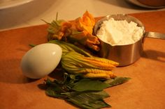 Cooking with Mara - Squash Blossoms Stuffed with Ricotta and Basil