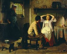 'Jealousy and Flirtation',  'Jealousy and Flirtation', Great Britain 1874 Oil on canvas Width 120 cm x height 90 cm 1024-1886
