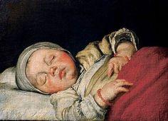 ArtArte Bernardo Strozzi (1581-1664) Sleeping Child, s.d. Residenzgalerie