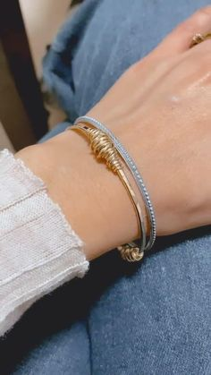 gold charms Mother/'s Day gift for her stacking bracelets rustic classy Gold charms bracelet blue and purple tassels set of 3