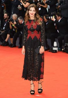 See All the Stars at the 72nd Venice Film Festival - Rossella Fiamingo (Photo: Rex USA)