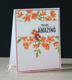Painted Petals card by Heidi Baks