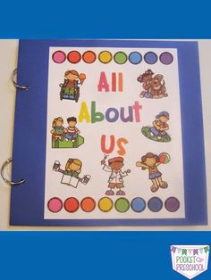All About Me class book! Have students take home or create their page at school using photos of themselves and their family, stickers, and/or by drawing pictures. It is the most read book in my classroom every year! by Pocket of Preschool Welcome To Preschool, Preschool First Day, All About Me Preschool, All About Me Activities, Preschool Books, Preschool Curriculum, Preschool Themes, Preschool Classroom, Kindergarten