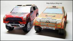 Model Car :: [종이모형] MINI COUNTRYMAN 2011 Dakar Rally