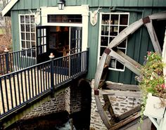 The Willowbrook Mill in Michigan, incredible setting and great place to visit