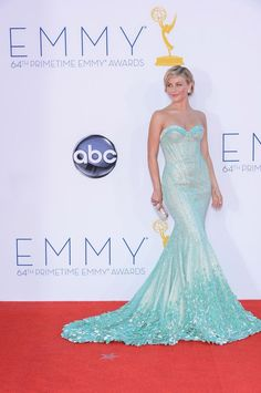 Emmys 2012: Winner of best dressed celebrity on the red carpet is Zooey Deschanel, Heidi Klum, Claire Danes or someone else? - 3am & Mirror Online