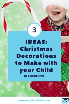 Christmas is coming! In this post, you will find 3 easy Christmas Crafts for Kids! A creative way to enjoy the Christmas holiday atmosphere with your child!