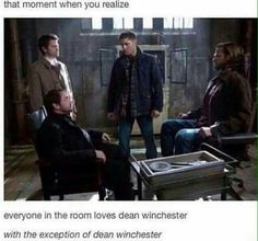 Supernatural. It was cute, then it was sad. As per usual.