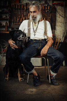 Gerd Lehmann. Finest Man Jewelry. Photo: VonBerg Photography. Bearded Man. Oldschool. Vintage Factory. Leipzig. Weikert Studio. Old GRD Star Photographer