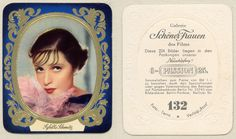 Sybille Schmitz- Passion cigarette card