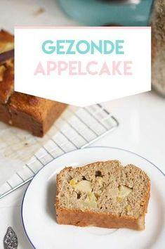 Sugar Free Recipes, Sweet Recipes, Cake Recipes, Snack Recipes, Dutch Recipes, Healthy Recipes, Healthy Diners, Healthy Baking, Healthy Food