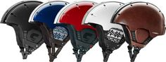 Carrera foldable winter sports helmet