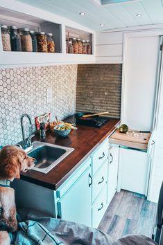Home Van Life Kitchen - Creative Vans