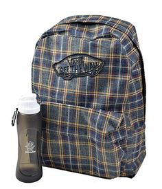Vans Realm Backpack Bundle With RolBot Water Bottle ** This is an Amazon Affiliate link. Want to know more, click on the image.