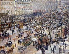 Pissarro....amazing detail. Love his works!