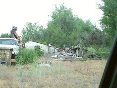 PT 290 CALDWELL IDAHO. OLD WORN DOWN BUILDING. MAY 15