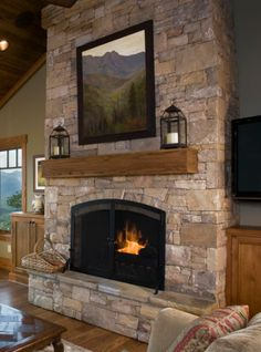 Outdoor fireplace - add slot for firewood storage beneath hearth seat
