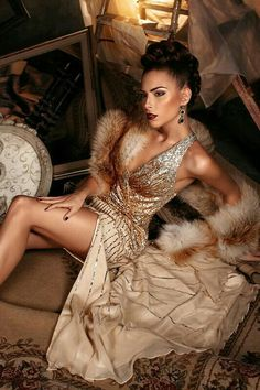 High Fashion Shoots, Gold Dress, Fashion Face, Sari, Nude, Glamour, Female, Color, Dresses