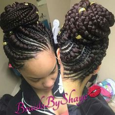 African American Braided Hairstyles Mesmerizing 12 Pretty African American Braided Hairstyles  Pinterest  African