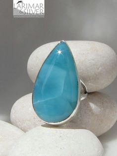 Lovely larimar ring.