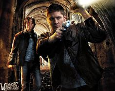 The Winchester Brothers of Supernatural.