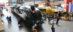 National Railway Museum, York: largest collection of railway locomotives in the world.