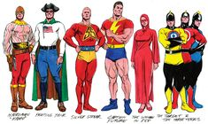 dc golden age heroes | brianmichaelbendis:Reimagined Golden Age Heroes by Alex RossWhich one ...