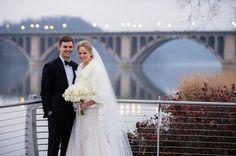 Fairmont DC Winter wedding couple portraits | Greg Gibson Photography on @AislePerfect via @aislesociety