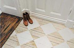 20 fotos e ideas para pintar pisos de madera. | Mil Ideas de Decoración