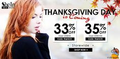 Giovanna  Certamente: Pre-thanksgiving-sale