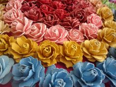 Beautiful Handmade Paper Roses Tutorial