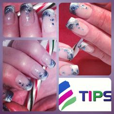 My nails by Tips (Carrie Pettit) December 2012