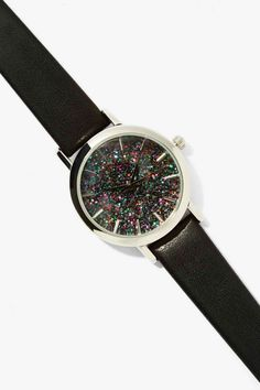 Party Time Glitter Watch