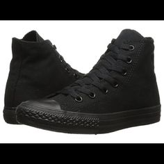 Converse Converse black high tops great condition like new kids size 3 Converse Shoes Sneakers