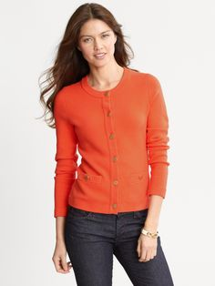 To replace the orange sweater that got ruined in the wash last year