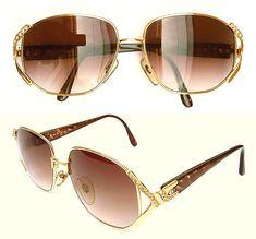 3b6a21bcc6dda Vintage Sunglasses - Christian Dior 2619 - NEW - Women Sunglasses -  Oversized Sunglasses - Germany 80s - Rhinestone - Optyl Frames CD Logo