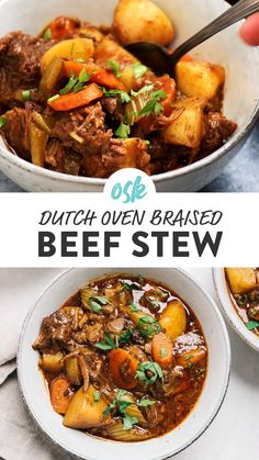 Dutch Oven Beef Stew, Dutch Oven Cooking, Stew Recipe Dutch Oven, Dutch Oven Meals, Dutch Oven Whole Chicken, Dutch Oven Lasagna, Beef Stew Stove Top, Best Dutch Oven, Stew Meat Recipes